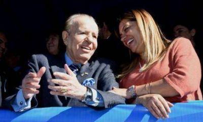 Menem confirmó que será candidato el 22 de octubre