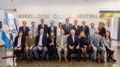ORT recibió la visita del Embajador de Israel en Argentina