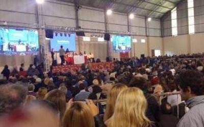 Salvador llamó a fortalecer Cambiemos en la Convención Radical en Berisso