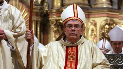 Renunció el arzobispo Alfredo Zecca