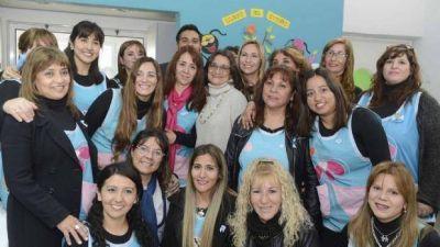 Corpacci inauguró un nuevo edificio escolar en Valle Viejo