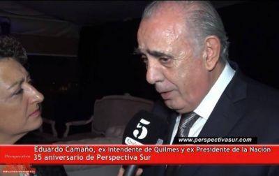 Camaño vio un crecimiento con el cambio de gobierno en Quilmes