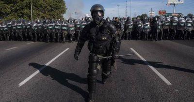 Crece la represión: 95 represiones y 180 imputados en el último año