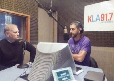 Katz y Pulti, hablaron los ex intendentes