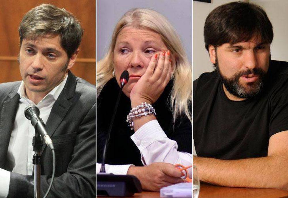 """Carrió denunció a Kicillof y Bossio por """"administración fraudulenta"""" en ANSES"""