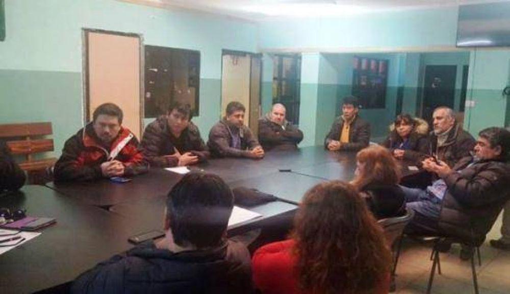 La Mesa de Unidad Sindical retomó su actividad en Río Turbio