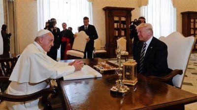 La visita de Donald Trump al papa Francisco: el encuentro duró menos de 30 minutos