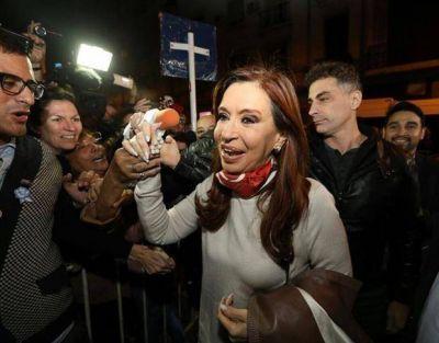 Cristina alentó expectativas por su candidatura legislativa