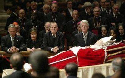Papas y presidentes de Estados Unidos en la historia