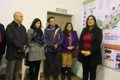 """Juana Koslay dio un paso más para certificarse como """"Municipio Saludable"""""""