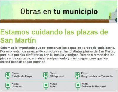 Cambiemos lanzó campaña de difusión de las obras de Vidal en San Martín