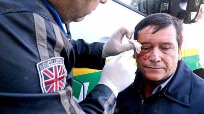 Weretilneck repudió la violencia frente a la Legislatura y apuntó contra ATE