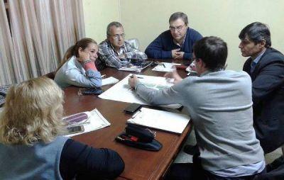 Reunión de trabajo: Bloque UCR – Obras Públicas