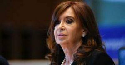 Cristina Kirchner sería candidata si hay unidad del PJ