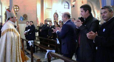25 de mayo: El presidente del Concejo Deliberante encabezó el Tedeum en la Catedral de Quilmes