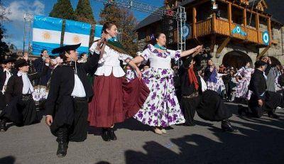 Bariloche celebró el Día de la Patria
