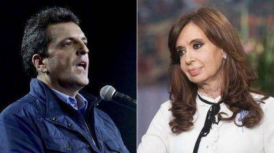 Cristina Kirchner y Sergio Massa entraron en escena y encendieron la campaña