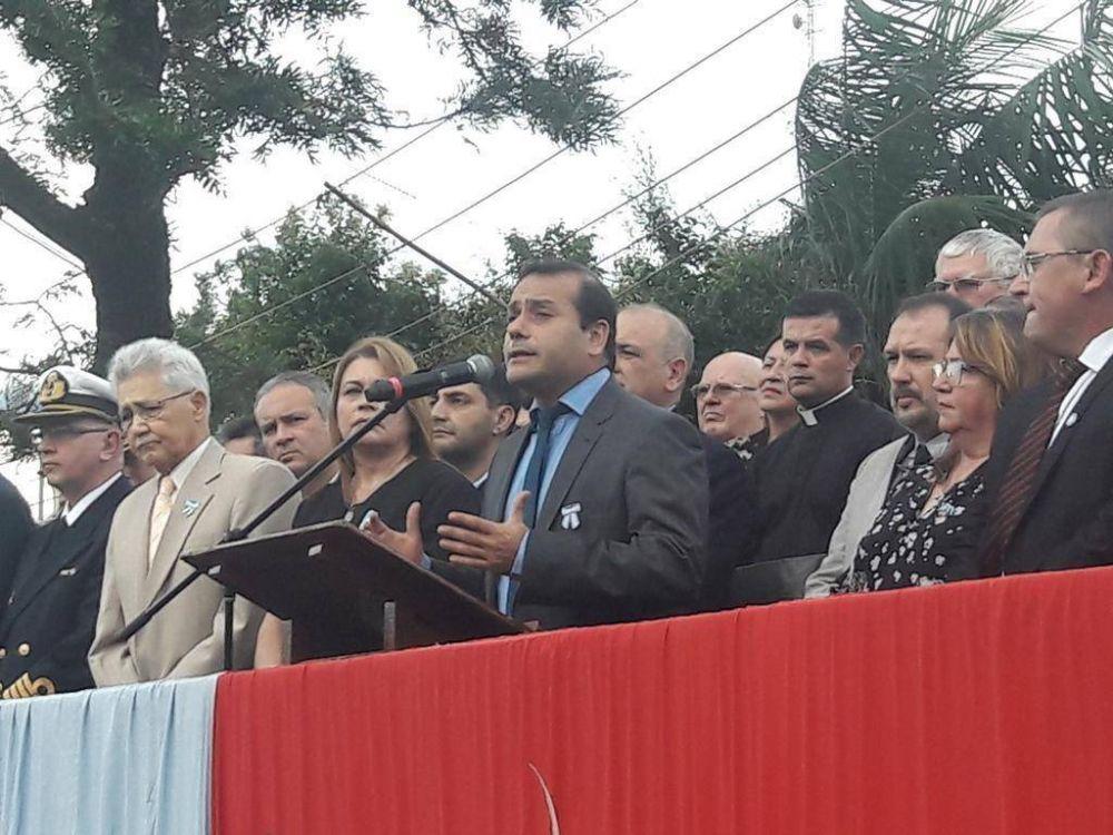 Misiones celebró el 25 de Mayo con un acto y la inauguración de una obra pública