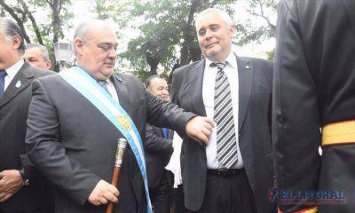 La fiesta patria juntó a adversarios electorales