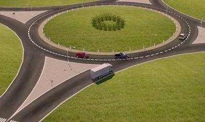 La Plata: Pusieron en marcha un plan de renovación de rotondas