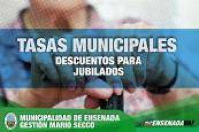 Ensenada: Importante anuncio de Secco que beneficia a jubilados con respecto al pago de tasas municipales