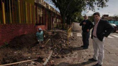 La Falda: Más de 500 familias recibirán el invierno con gas en sus casas
