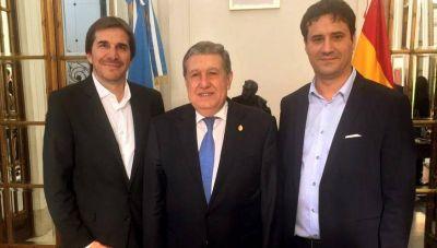 Importante agenda cultural de diputados marplatenses en España