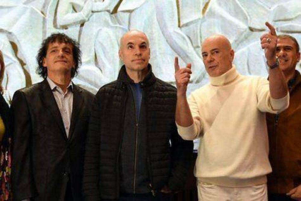 Larreta y Mahler reabrieron el Teatro San martín