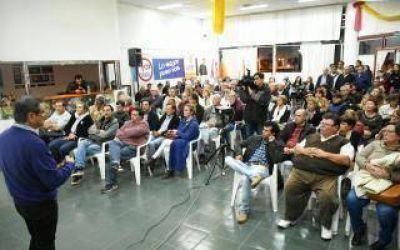Buil y Reynoso dieron detalles de la situación hídrica en Rivadavia