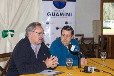 En Guaminí se reunieron intendentes de la Sexta Sección con el ministro de Gobierno, Joaquín De La Torre