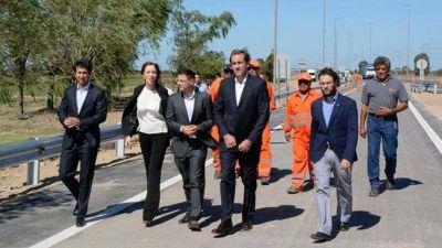 Inaugurarán una obra de bajada de la Autopista