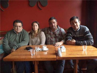 El diputado nacional Adrián Grana visitó y recorrió Bolívar