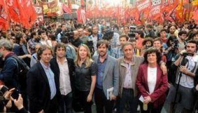La izquierda porteña diseña una lista única para las PASO