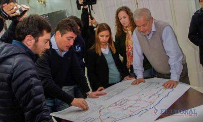 Con cuatro puentes sobre la Ruta 12 y un túnel quieren agilizar el desagote de 600 mil hectáreas