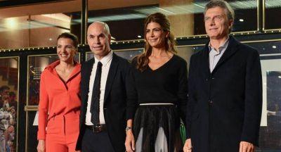 El Presidente asistió a la gala de reinauguración del Teatro San Martín