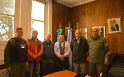General Rodríguez: Kubar recibió a autoridades nacionales de Seguridad