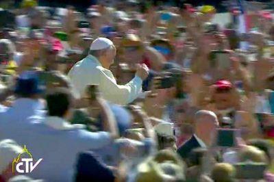 Texto completo de la catequesis del papa Francisco en la audiencia del 31 de mayo de 2017