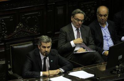 Marcos Peña presentó en Diputados el segundo informe de Gobierno