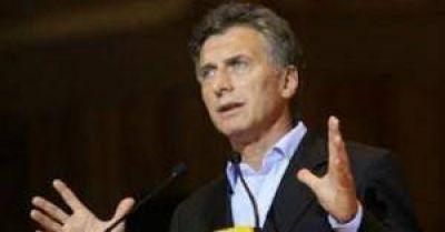 Comenzó la campaña electoral de Mauricio Macri