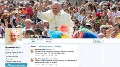 El papa Francisco es el líder mundial más seguido en Twitter
