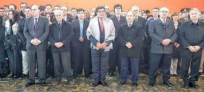 """En el Día de la Provincia, Arcando pidió """"fortalecer las instituciones"""""""
