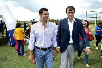 Con el candidato macrista