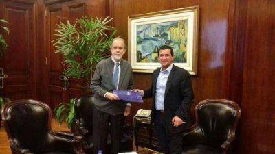 El intendente de Pellegrini, luego de reunirse con González Fraga, se mostró optimista de poder contar con sucursal del Banco Nación