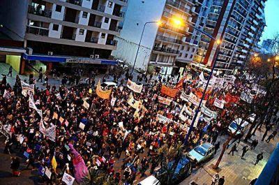 Manifestación, festival y marcha por Ni una Menos