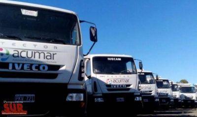 Sospechan que se alquilan de forma ilegal camiones de Acumar