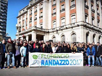 """Fabián Lugli: """"Tenemos claro que nuestro candidato es Florencio Randazzo"""""""