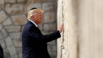 Trump no trasladará la embajada de EE.UU. en Israel a Jerusalem