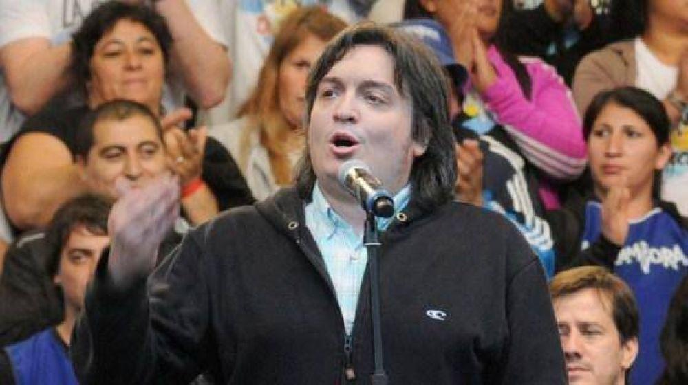 """Máximo Kirchner contra el Gobierno: """"Tienen todos y cada uno de los resortes de poder"""""""