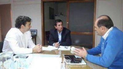 Inundaciones: el intendente de Pellegrini se reunió con autoridades de la provincia de Buenos Aires