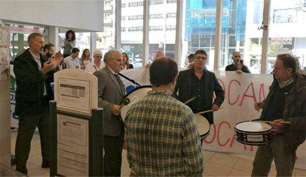 """Guglielmotti: """"La Bancaria no va a permitir el cierre de sucursales del HSBC"""""""